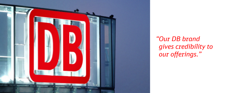 Our DB brand gives credibility to our offerings.